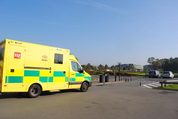 Ongeval In Loppem Met File Richting Binnenland Regio Het